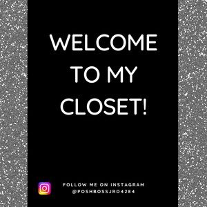 Welcome to my closet! 💕